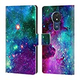 Official Haroulita Nebula Beauty Fantasy 2 Leather Book Wallet Case Cover Compatible For