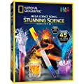 NATIONAL GEOGRAPHIC Stunning Chemistry Set - Mega Science Kit with Over 15 Easy Experiments, Make a Volcano, Launch a Rocket, Create Fizzy Reactions, and More, Great STEM Gift for Boys and Girls