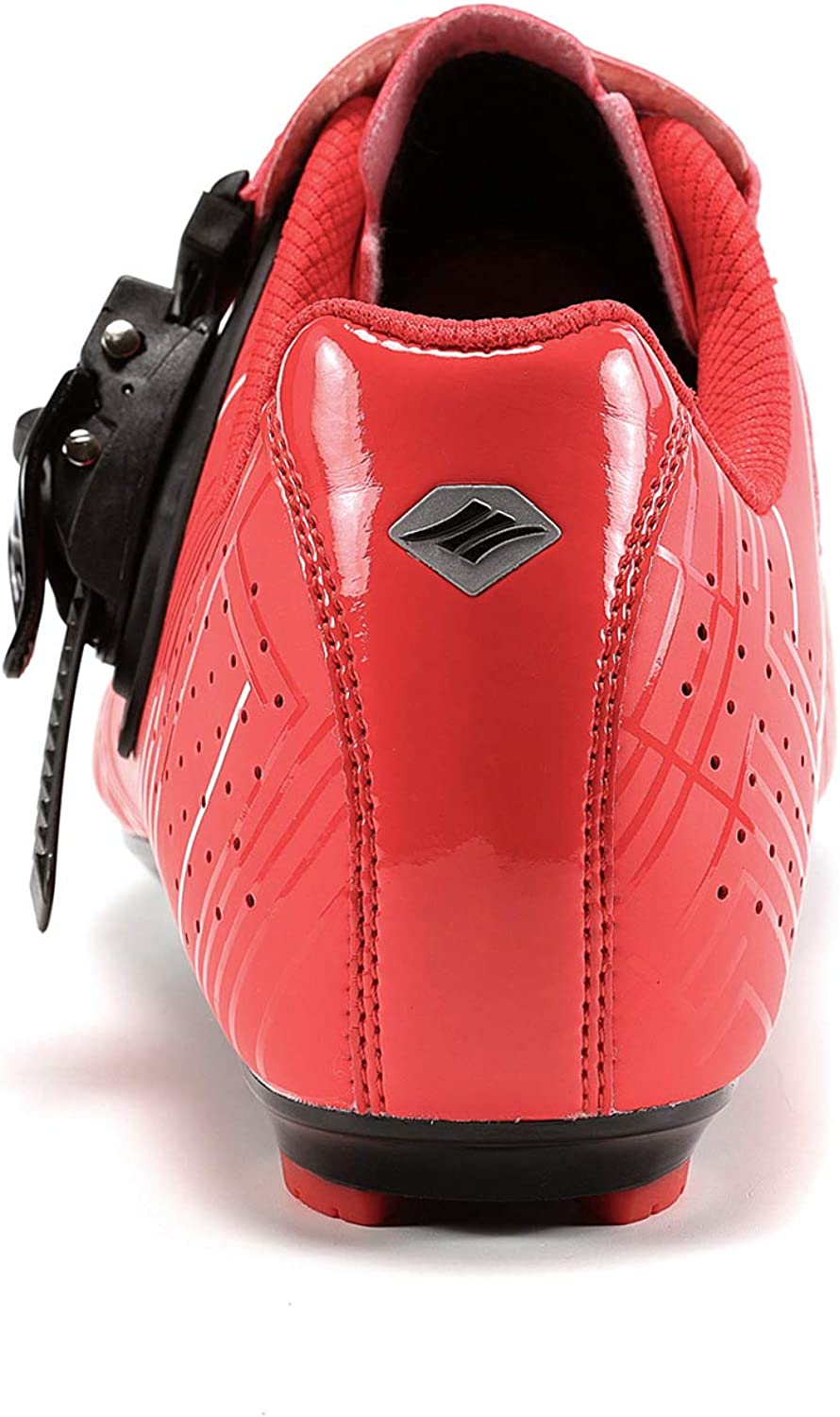 Roadway Santic Cycling Shoes Mens or Womens Road Cycling Riding Shoes Spin Shoes with Buckle