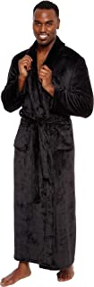 Men's Big and Tall Full Length Long Bathrobe House Coat Pajamas