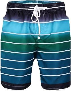 Sykooria Mens Swim Trunks Summer 3D Print Funny Graphic Medium Length Drawstring Casual Beach Surfing Swimming Shorts S-XXL