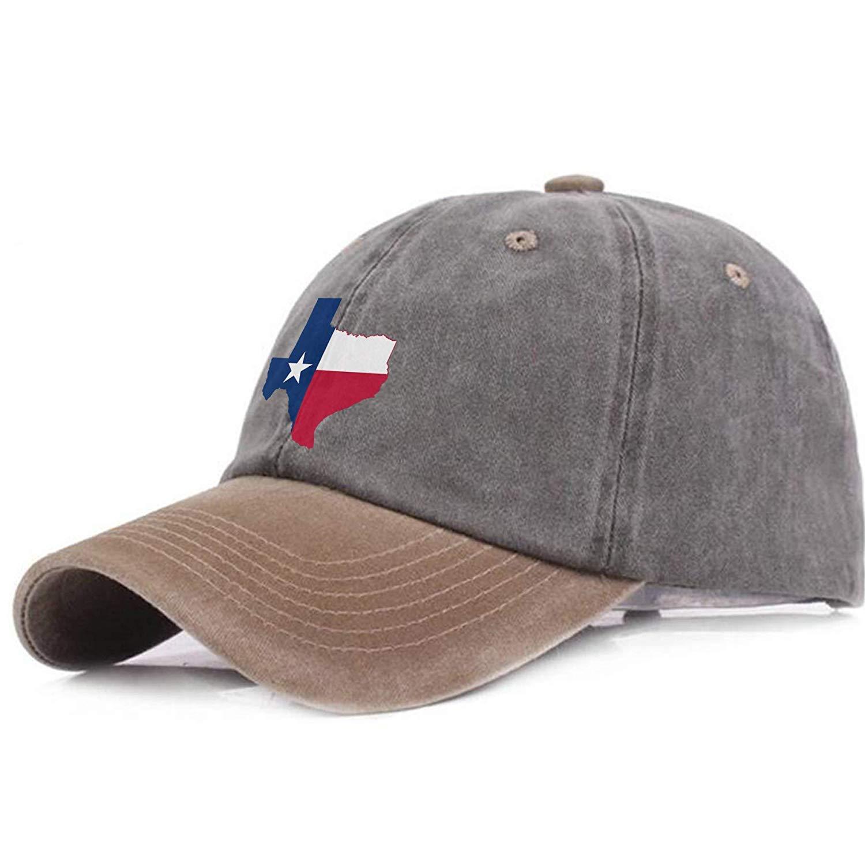 saletopk Mapa de la Bandera de Texas Gorras de béisbol Ajustables Unisex Sombreros Vaqueros Deporte al Aire Libre de Vaquero: Amazon.es: Deportes y aire libre