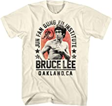 Bruce Lee Chinese Martial Arts Icon Jun Fan Gung Fu Institute Adult T-Shirt Tee