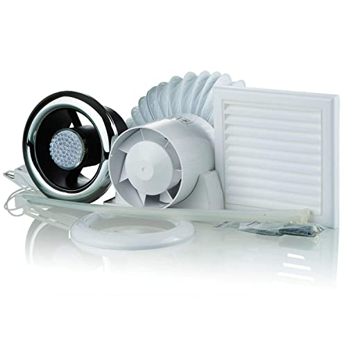 Terrific Shower Extractor Fan With Light Amazon Co Uk Download Free Architecture Designs Scobabritishbridgeorg
