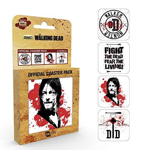 The Walking Dead Daryl Coaster Mix Untersetzer Standard