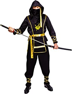 Men's Golden Dragon Ninja Costume