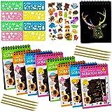Scratch Art books for Kids (10'7.5 ') Scratch...