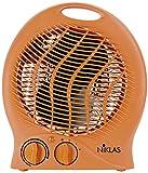 Kekai KT0590 - Termoventilador (Naranja) 1000/2000 W 23x14x27 cm