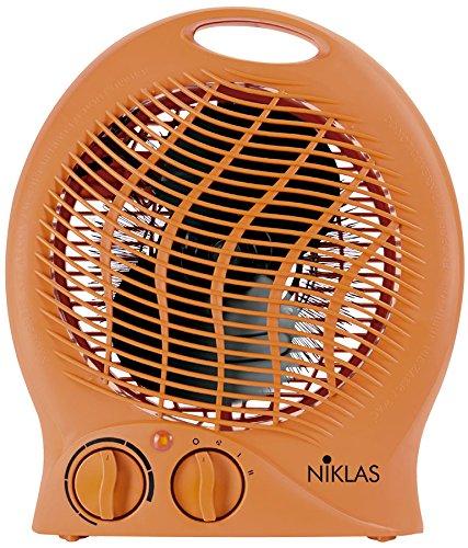 KEKAI KT0590 - Termoventilador 1000/2000 W 23x14x27 cm Naranja