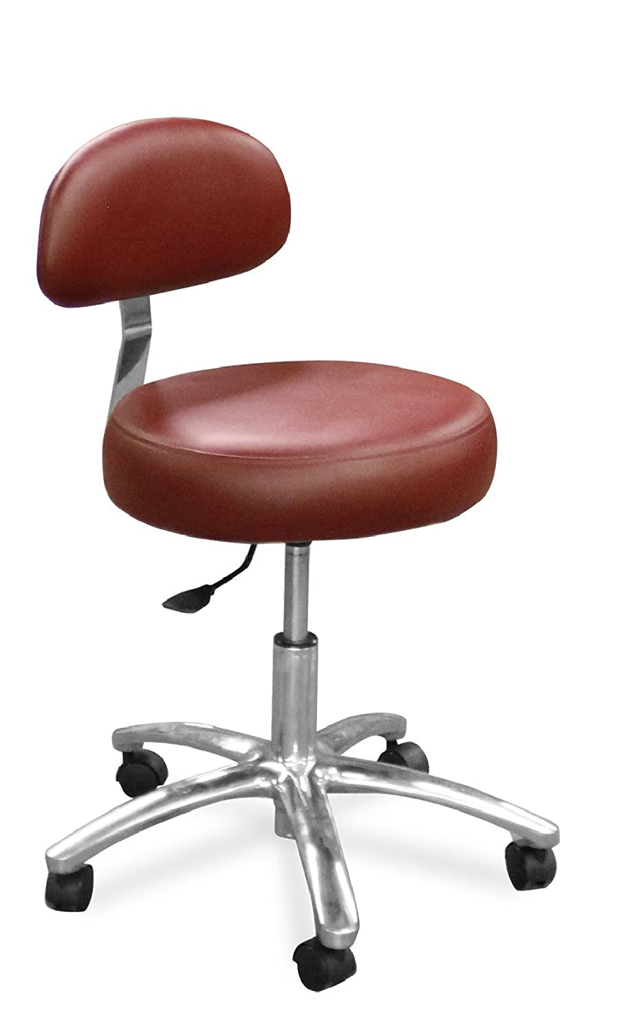 Dentists Denver Mall Unite 510-17 Dental Doctor Round Stool Ranking TOP8 Back Firm Seat