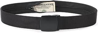 Travel Money Belt, Nylon Hidden Money Pocket Belt with Plastic Buckle
