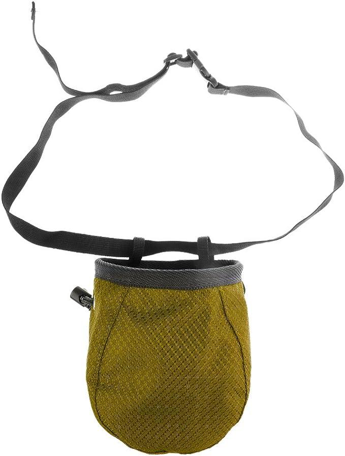 Gazechimp Bolsa Cilíndrica con Magnesio para Escalada con Cinturón Cordón Accesorio Deportivo