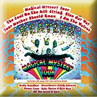 BEATLES ビートルズ (来日55周年記念) - Magical Mystery Tour Album/ピンバッジ/バッジ 【公式/オフィシャル】