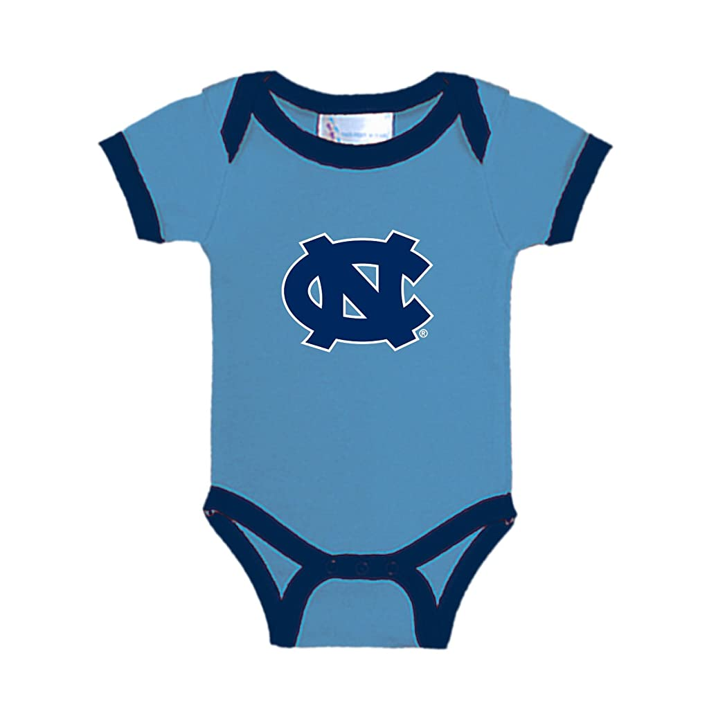 North Carolina Tar Heels Two Tone NCAA College Newborn Infant Baby Creeper
