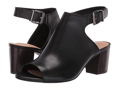 Clarks Deloria Gia (Black Leather) High Heels