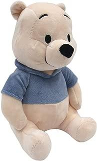 Lambs & Ivy Disney Baby Forever Pooh Bear Plush, Beige/Blue