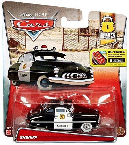 Disney Pixar Cars Sheriff (sheriff'S impound lot) - véhicule miniature