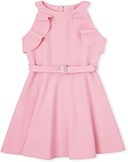 فستان بناتي بكشكشة بدون أكمام من The Kids Place