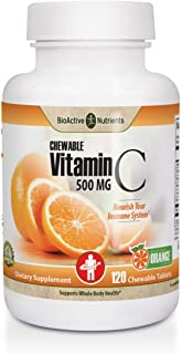 Vitamin C Chewables 120 ct Orange Flavor