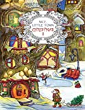 Nice Little Town Christmas 2 - Adult Coloring Book (Stress Relieving Coloring Pages, Coloring Book for Relaxation)
