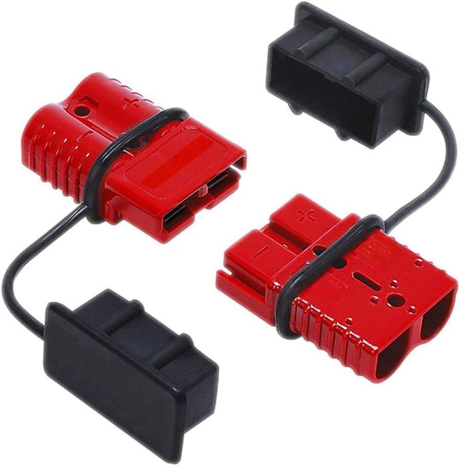 2 Stück 50 A Stecker Verbindung Abtrennung Von Seilwinde Anhänger Batterie Schnellverbinder Kit Beleuchtung