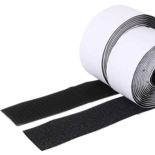Trubatis 2 Self Adhesive Hook and Loop 5.4 Yards Tape Fastener Sticky Back (