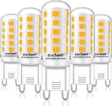 Eco.Luma G9 LED 5 W komt overeen met 33 W 40 W G9 halogeen, 420 lm, mini-lamp, warmwit 3000 K, flikkert niet, AC 220 - 240...