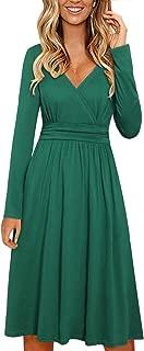 Best 3/4 sleeve long dress Reviews