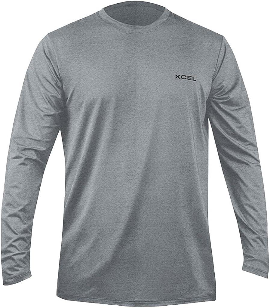 XCEL Mens Premium Stretch Long Sleeve Rashguard