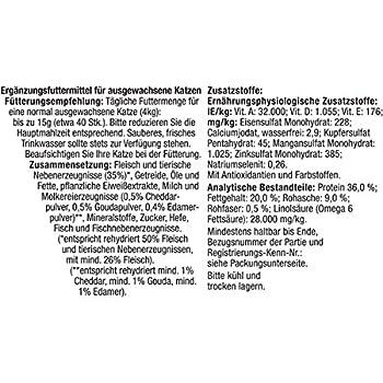 Felix KnabberMix friandises pour Chat, Lot de 8(Sachet de 8x 60g)