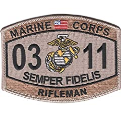 Popular Patch Orders Over $20 Include Free Shipping! Iron On Backing, Height: 3.25 inches, Width: 4.50 inches Officially Licensed Product of the United States Marine Corps. Popular Patch is your source for high quality embroidered military patches. C...