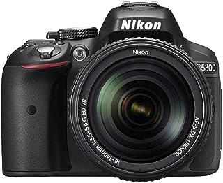 كاميرا نيكون D5300-24.2 ميجابكسل، اس ال ار، اسود