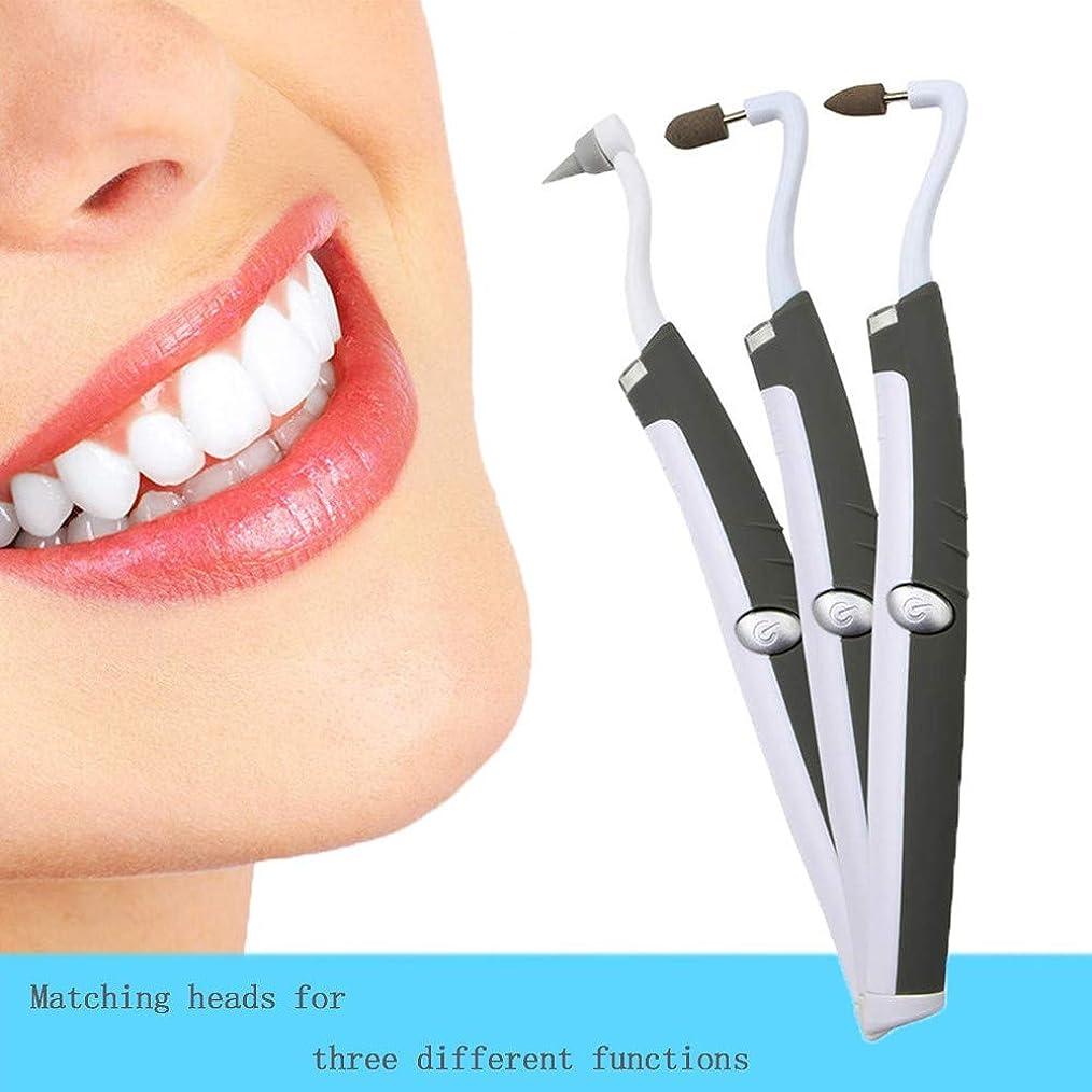 社会科ピーブ第二に歯石除去剤-変色を取り除き、歯を白くする歯石除去剤歯石が歯を除去しますポーランドのスリップが歯垢の汚れを防ぎます(3頭)