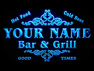 ADVPRO u-tm-b Name Personalized Custom Family Bar & Grill Beer Home Bar LED Neon Sign