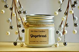 Gingerbread Scented Soy Candle, Christmas Candle, Holiday Decor Candle Lover Gift