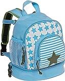 LÄSSIG Starlight Kinderrucksack Kindergartentasche mit Brustgurt ab 3 Jahre 27
