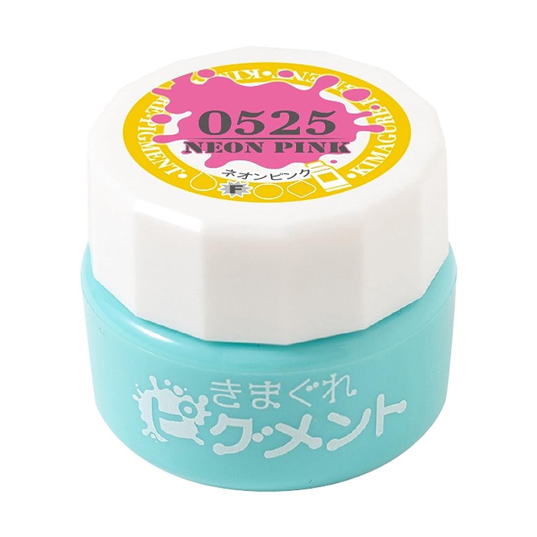 旅行展示会生息地Bettygel きまぐれピグメント ネオンピンク QYJ-0525 4g UV/LED対応
