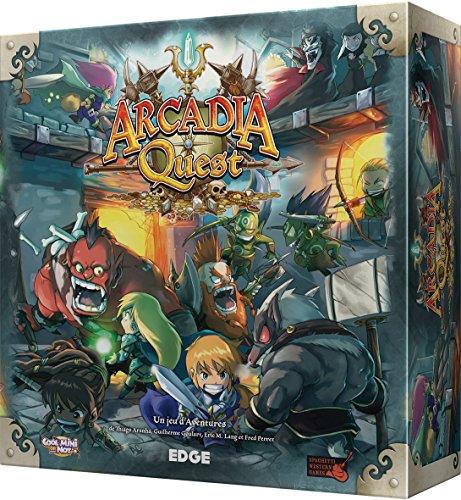 Asmodee Arcadia Quest Juego de Mesa