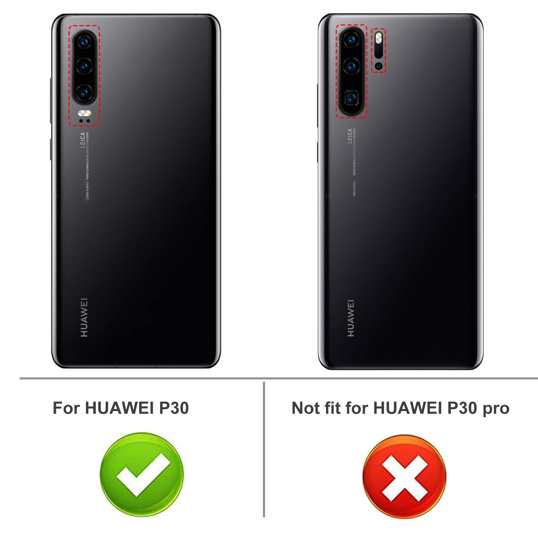 iBetter para Huawei P30 Funda, Fina de Silicona Funda, para Huawei ...
