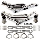 ECCPP Exhaust System HDSG-MC85 Replacement Exhaust Manifolds Fit for 1988-1997 for C-hevrolet G-MC Pickup 5.0L 5.7L V8
