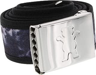 Grizzly New Wave Tie Dye Clamp Belt Black Skate Belts