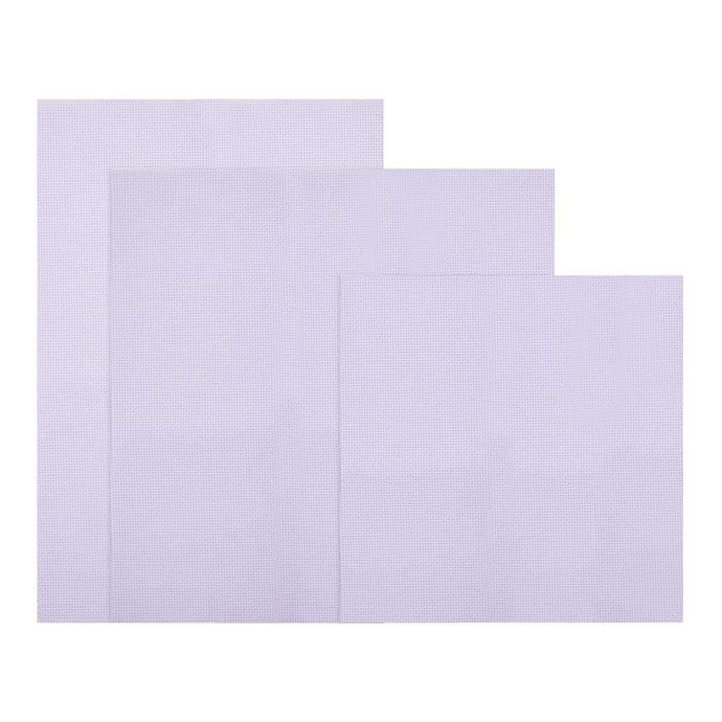 NBEADS 1 Set 9Pcs/Set White Cross Stitch Fabric Classic Reserve Cloth for Embroidery & Cloth Craft