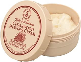 Taylor of Old Bond Cedarwood Shaving Cream, 0.55 Pound