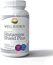 Histamine Shield Plus™ All Natural Antihistamine Supplement Works for Pollen, Pet Dander, Dust, Mold, and Odor Allergies. ...