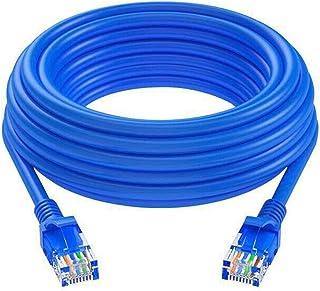 Frieed Câble Ethernet CAT6 RJ45 1000MBPS Câble de Plomb de raccord de réseau de réseau 5m / 10m / 20m / 30m / 40m Durable...