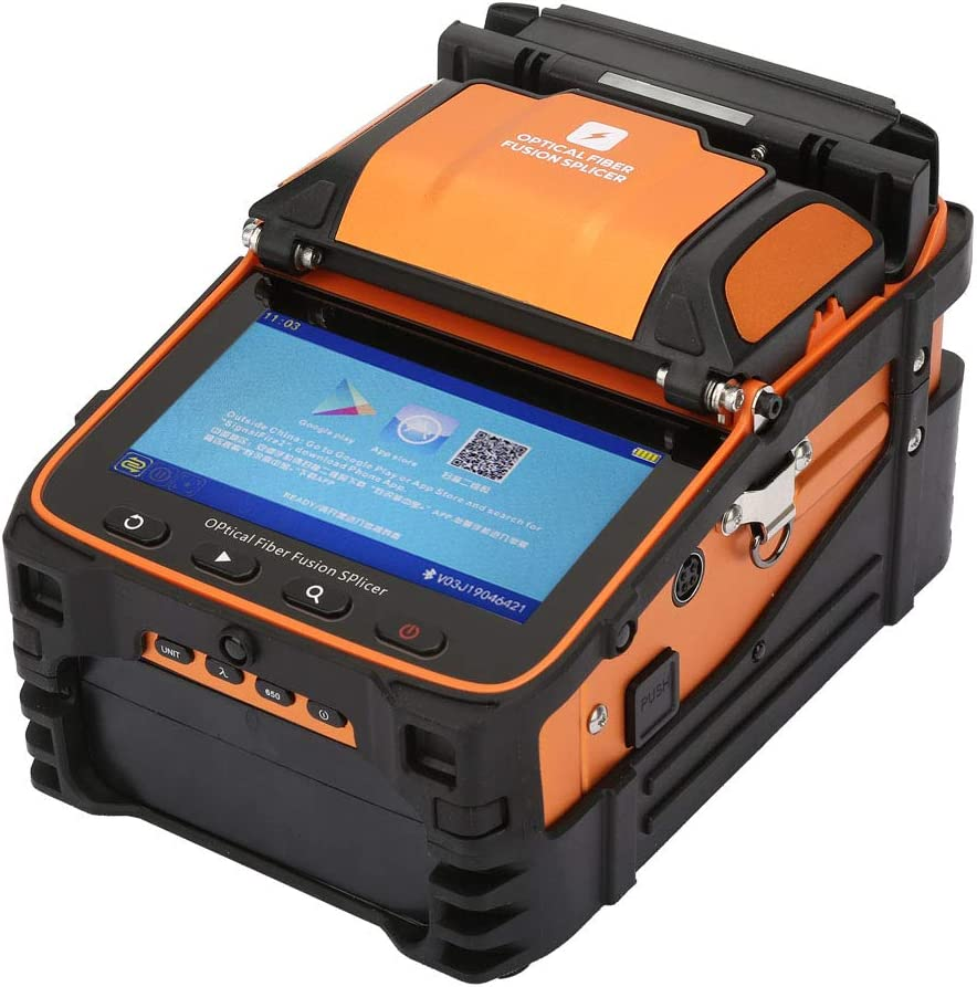 Fiber Fusion Splicer High Optical Automatic Accuracy Discount mail order Fusi Max 81% OFF