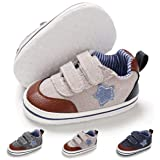 BENHERO Baby Boys Girls Canvas Toddler Sneaker Anti-Slip First Walkers Candy Shoes 0-24 Months 12 ColorsBENHERO Baby Boys Girls Canvas Toddler Sneaker Anti… ...
