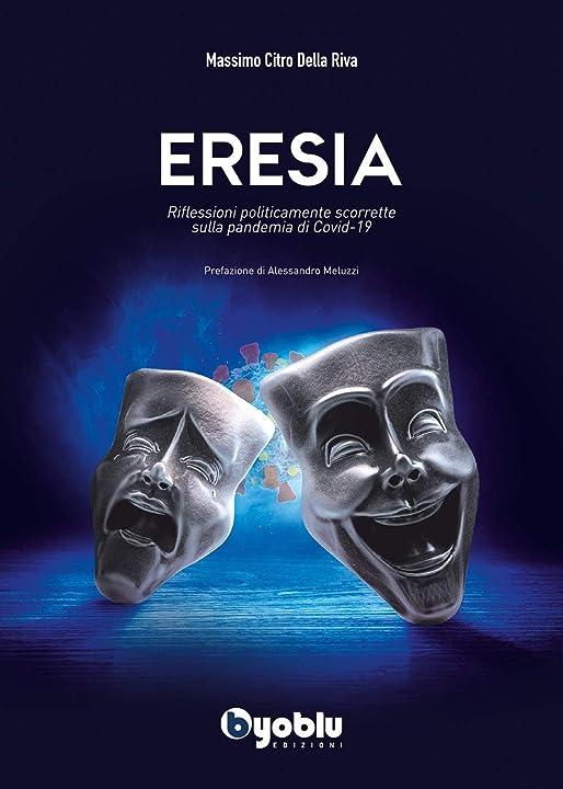 Libro eresia - dottor massimo citro copertina flessibile byoblu 978-8894548259