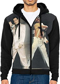 Freddie Mercury Remixes Man's Leisure Jacket Hoodie Sweatshirt