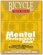 Mental Photography Deck Bicycle (Red) - Trick by Murphy's Magic